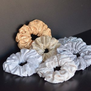 Single Self Colour Scrunchies