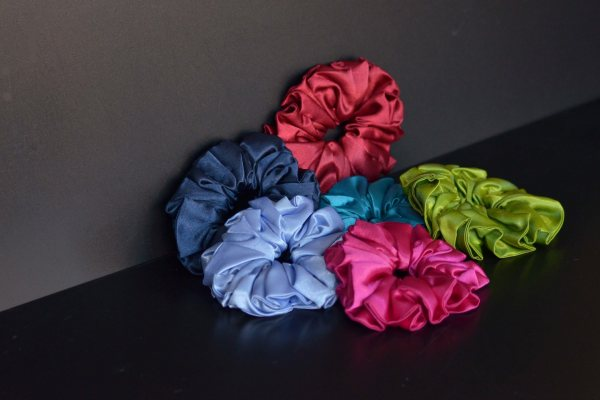Single Colour Scrunchies
