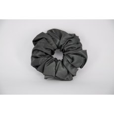 (09) Dark Grey Single Colour Scrunchie