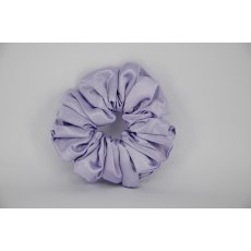 (12) Light Lilac Single Colour Scrunchie