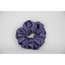 (15) Purple Single Colour Scrunchie