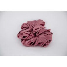 (20) Dusky Pink Single Colour Scrunchie