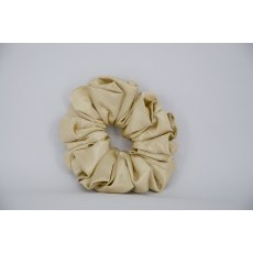 (25) Gold Single Colour Scrunchie
