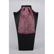 (53) Burgundy Paisley Contrast Colour Middle