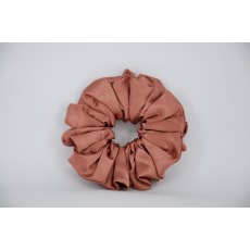 (27) Terracotta Single Colour Scrunchie