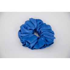 (02) Royal Blue Single Colour Scrunchie