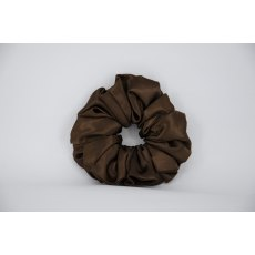 (29) Brown Single Colour Scrunchie