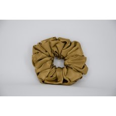 (30) Dark Gold Single Colour Scrunchie