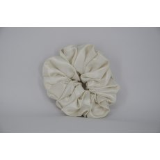 (31) Ivory Single Colour Scrunchie