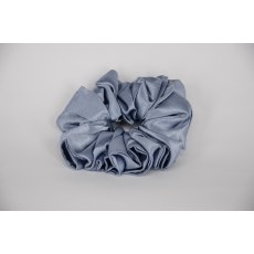 (03) Mid Blue Single Colour Scrunchie