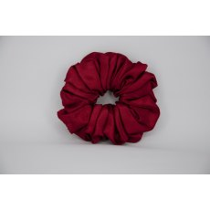 (40) Ruby Single Colour Scrunchie