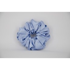 (41) Cornflower Blue Single Colour Scrunchie