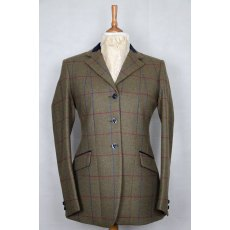 Equi-Jewel 'RACHEL' Ladies Longer Line Tweed Jacket