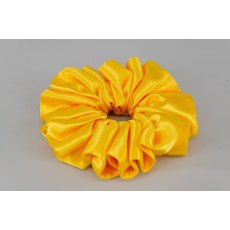 (57) Yellow Single Colour Scrunchie