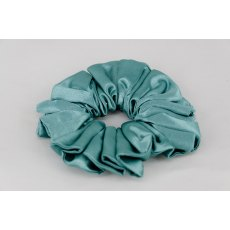 (58) Teal Single Colour Scrunchie