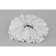 EJS-51 Hamburg White Scrunchie