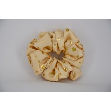 (25) Gold Scrunchie with Sequins