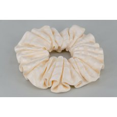 EJS-65 Cream Wave Scrunchie