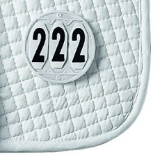 Saddle Pad Number - Round