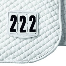 Saddle Pad Number - Square
