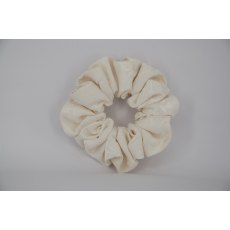 EJS-24 Ivory Self Pattern Scrunchie