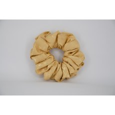 EJS-25 Gold Self Pattern Scrunchie