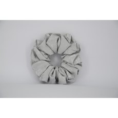 EJS-26 Silver Self Pattern Scrunchie