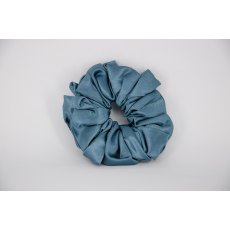 (06) Dark Aqua Single Colour Scrunchie