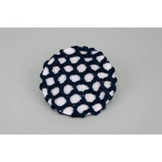 Plain Navy Bun Net