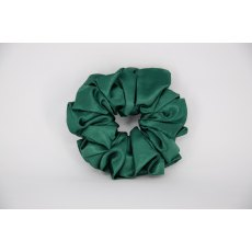(07) Dark Green Single Colour Scrunchie