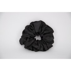 (08) Black Single Colour Scrunchie