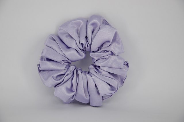 Equi-Jewel (12) Light Lilac Single Colour Scrunchie