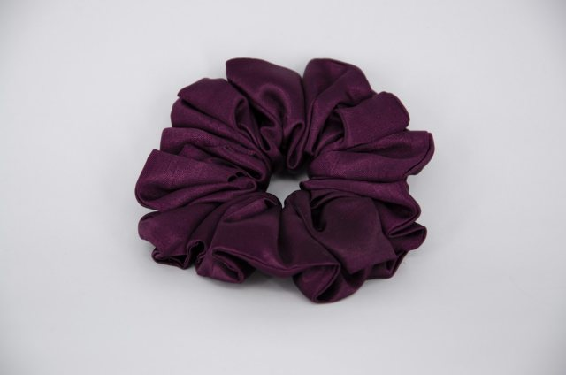 Equi-Jewel (19) Maroon Single Colour Scrunchie