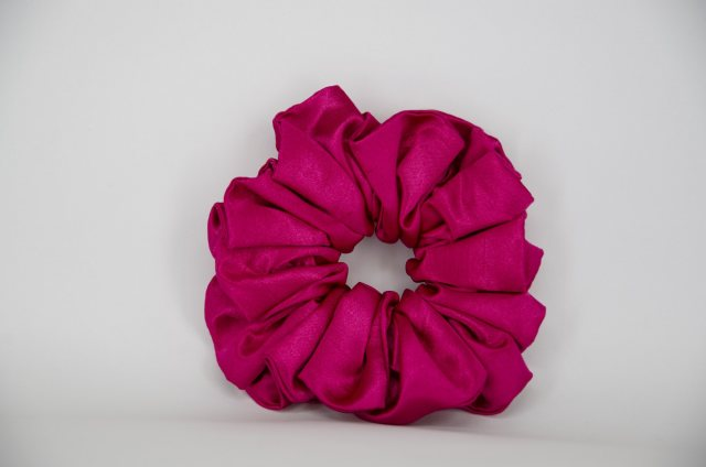 Equi-Jewel (23) Scrunchie Cerise Single Colour