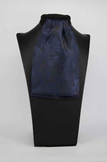 Equi-Jewel (37) Navy Paisley Contrast Colour Middle