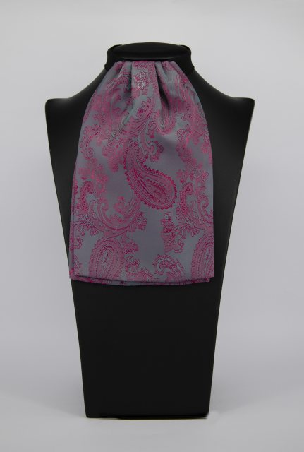 Equi-Jewel by Emily Galtry (44) Cerise Paisley Contrast Colour Middle