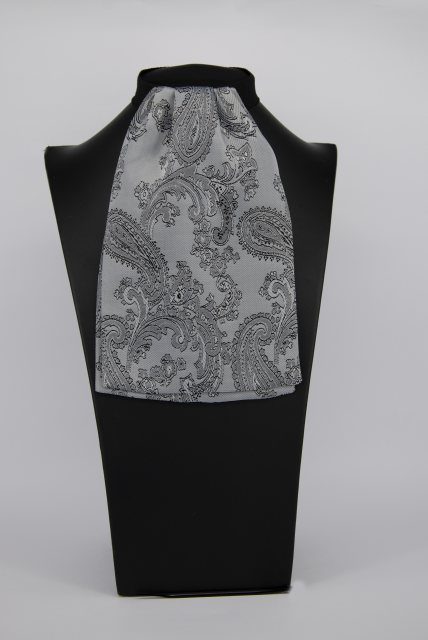 Equi-Jewel (46) Silver/Grey Paisley Contrast Colour Middle