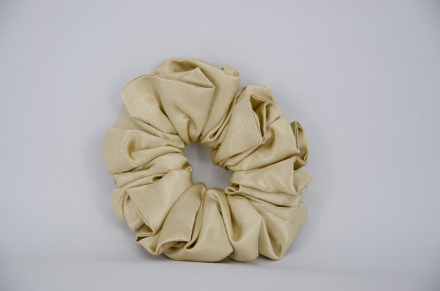 Equi-Jewel by Emily Galtry (25) Gold Single Colour Scrunchie