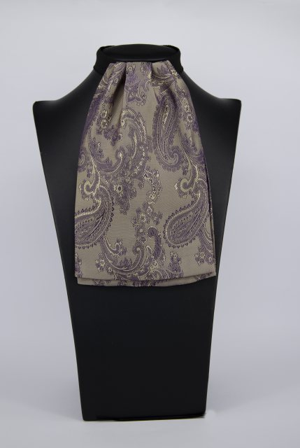 Equi-Jewel (51) Gold/Purple Paisley Contrast Colour Middle