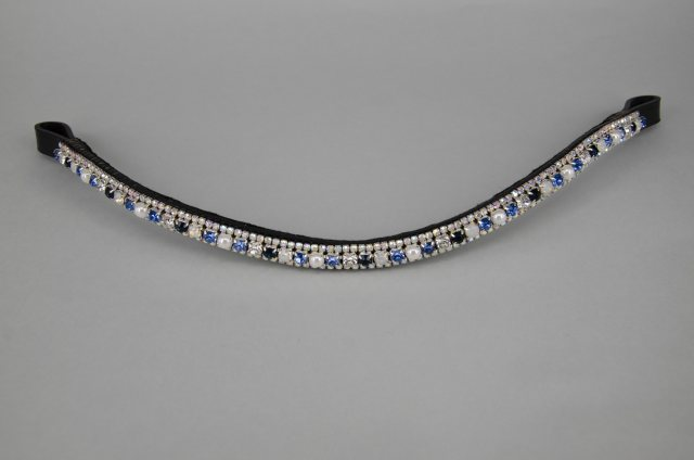 Equi-Jewel 1/2'' BLUECHIP Browband