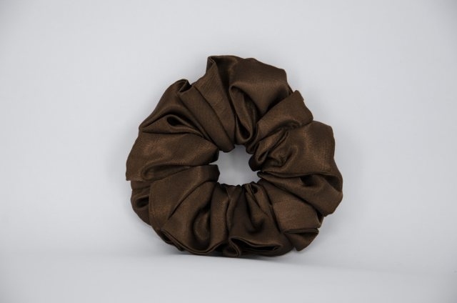 Equi-Jewel (29) Brown Single Colour Scrunchie