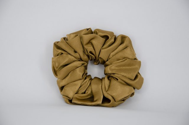 Equi-Jewel (30) Dark Gold Single Colour Scrunchie