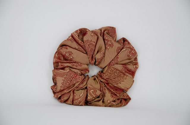 Equi-Jewel (35) Rust Paisley Single Colour Scrunchie