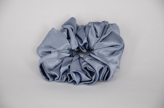 Equi-Jewel (03) Mid Blue Single Colour Scrunchie