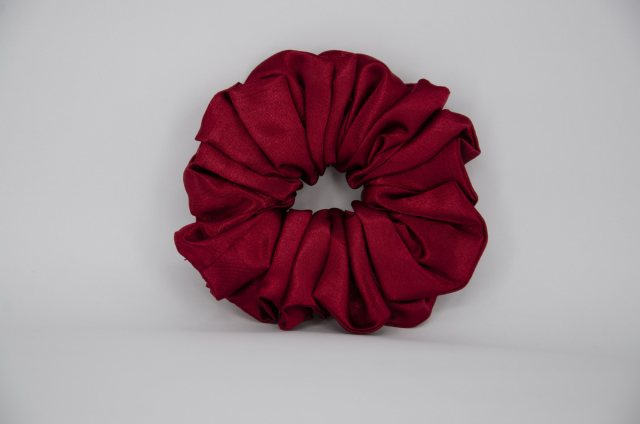 Equi-Jewel by Emily Galtry (40) Ruby Single Colour Scrunchie