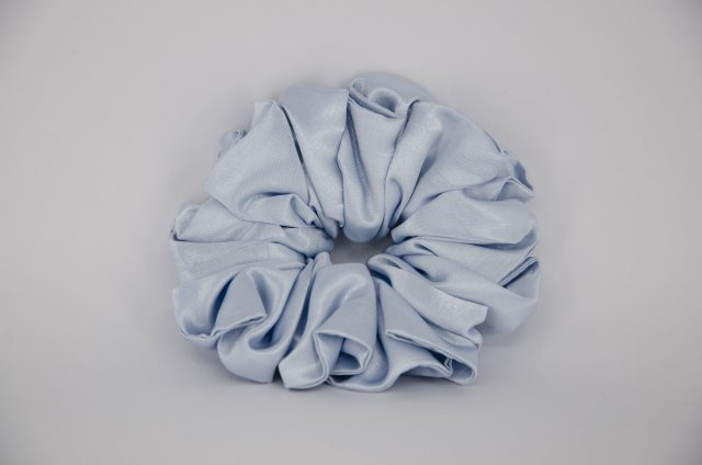 Equi-Jewel (04) Baby Blue Single Colour Scrunchie