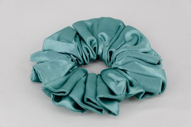 Equi-Jewel (58) Teal Single Colour Scrunchie