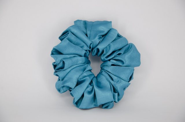 Equi-Jewel (05) Aqua Single Colour Scrunchie