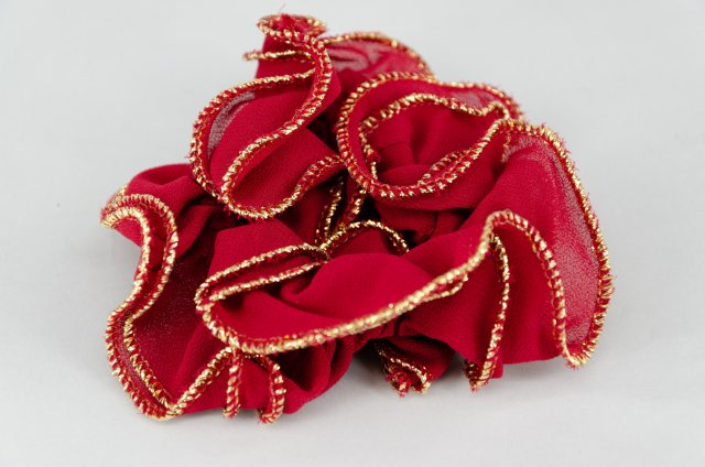Equi-Jewel by Emily Galtry Red Chiffon Scrunchie