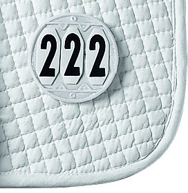 Waldhausen ELT Saddle Pad Number - Round